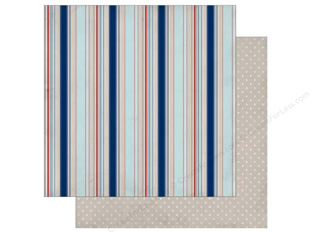Authentique 12 x 12 in. Paper Seaside Voyage (25 sheets)