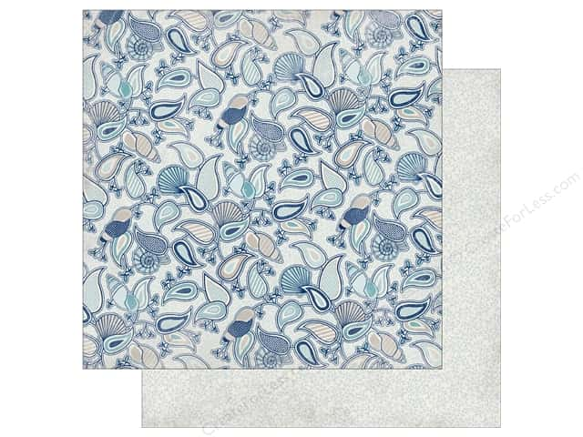 Authentique 12 x 12 in. Paper Seaside Aquatic (25 sheets)