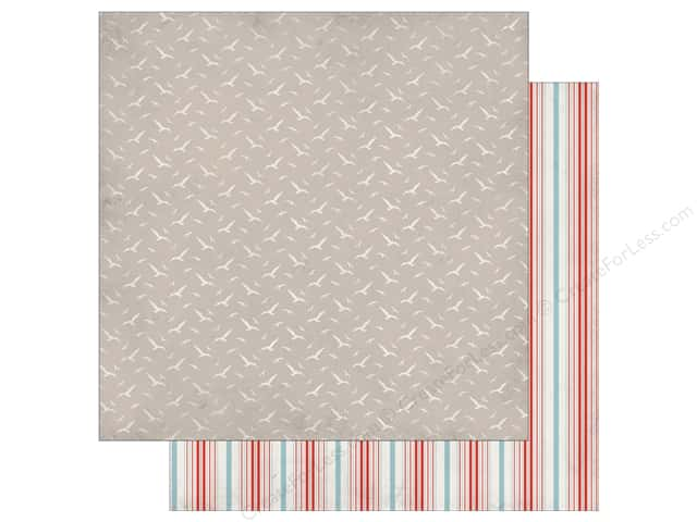 Authentique 12 x 12 in. Paper Seaside Journey (25 sheets)