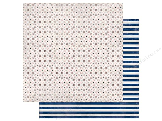Authentique 12 x 12 in. Paper Seaside Buoy (25 sheets)