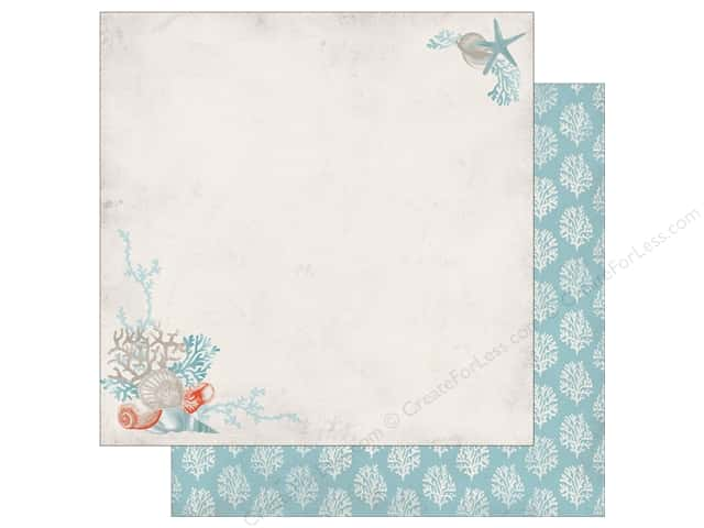 Authentique 12 x 12 in. Paper Seaside Oceanic (25 sheets)