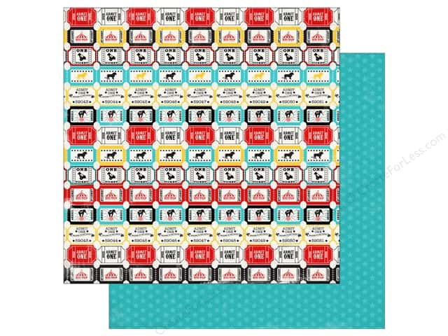 Carta Bella 12 x 12 in. Paper Circus Party Tickets (25 sheets)