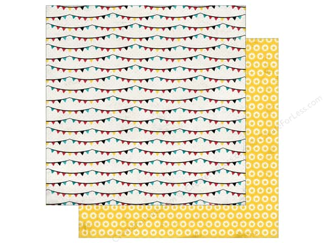 Carta Bella 12 x 12 in. Paper Circus Party Banners (25 sheets)