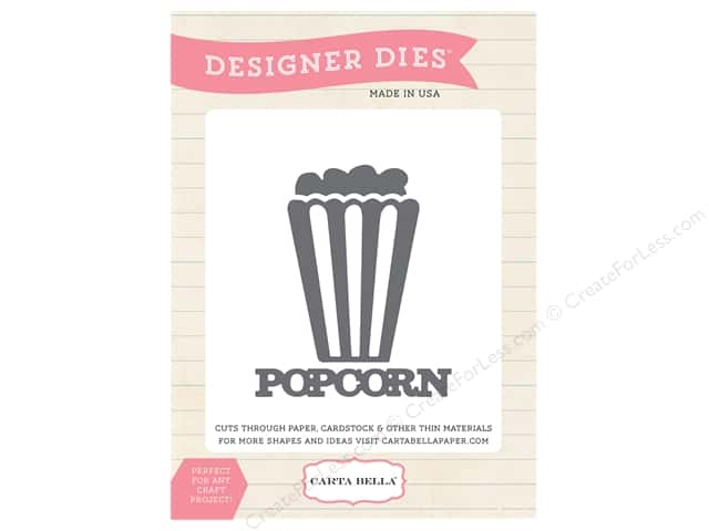 Carta Bella Designer Dies Circus Party Popcorn