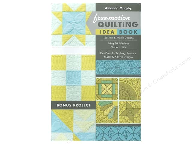Free Motion Quilting Idea Book by Amanda Murphy