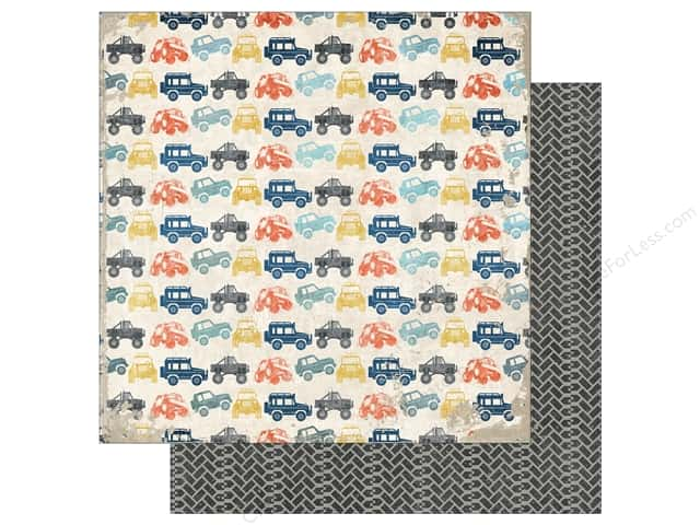 Echo Park 12 x 12 in. Paper Off Road Collection Trucks (15 sheets)