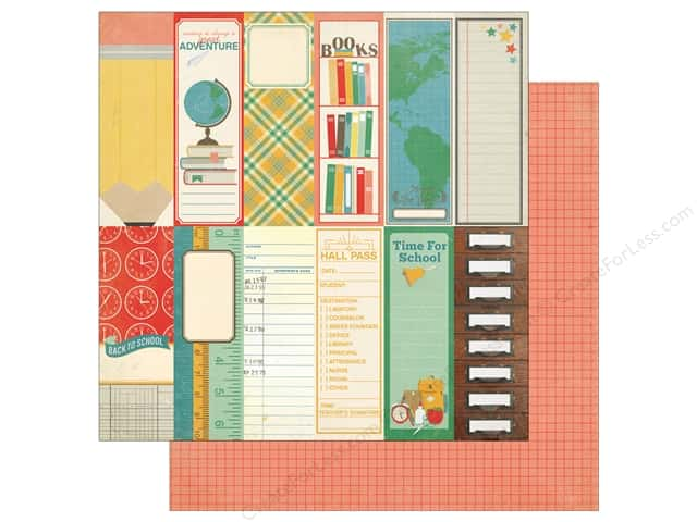 Echo Park 12 x 12 in. Paper Teachers Pet Book Marks (25 sheets)