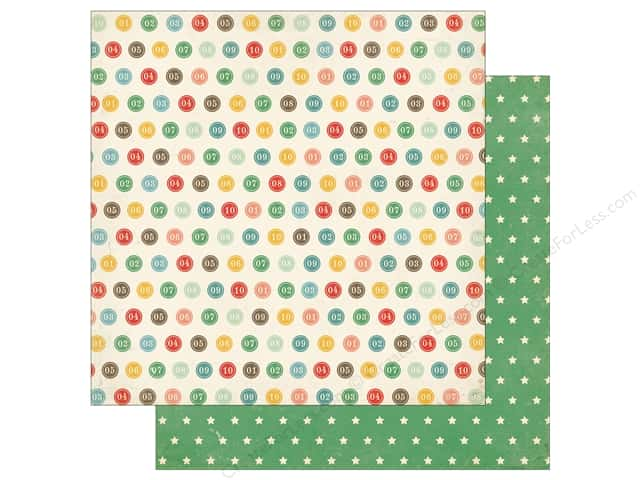 Echo Park 12 x 12 in. Paper Teachers Pet Number Circles (25 sheets)