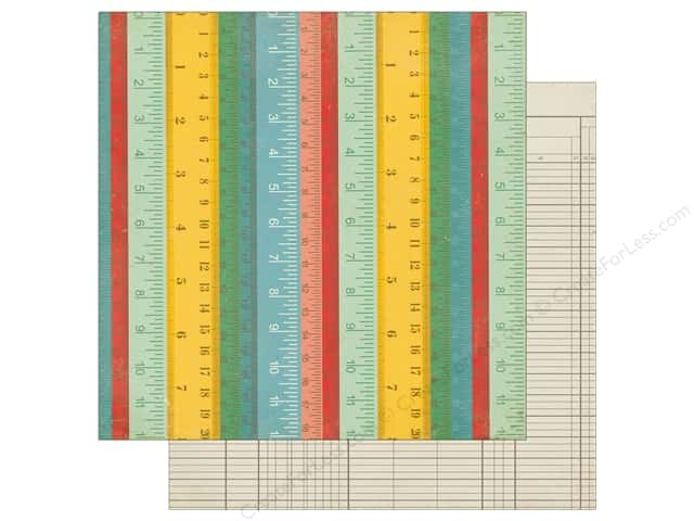 Echo Park 12 x 12 in. Paper Teachers Pet Rulers (25 sheets)