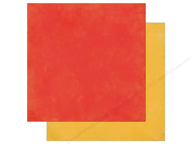 Echo Park 12 x 12 in. Paper Teachers Pet Collection Red/Yellow (25 sheets)