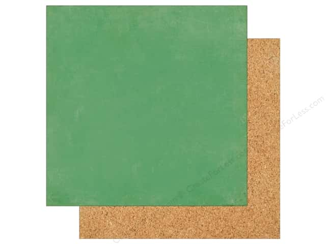 Echo Park 12 x 12 in. Paper Teachers Pet Green/Bulletin Board (25 sheets)