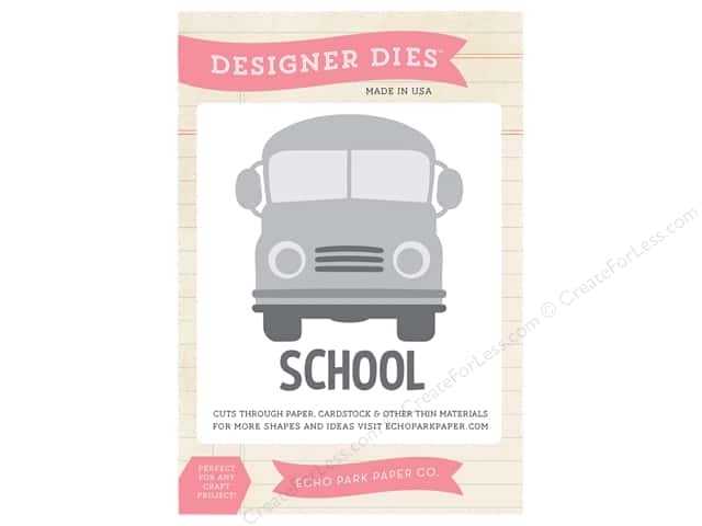 Echo Park Designer Dies Teachers Pet School Bus