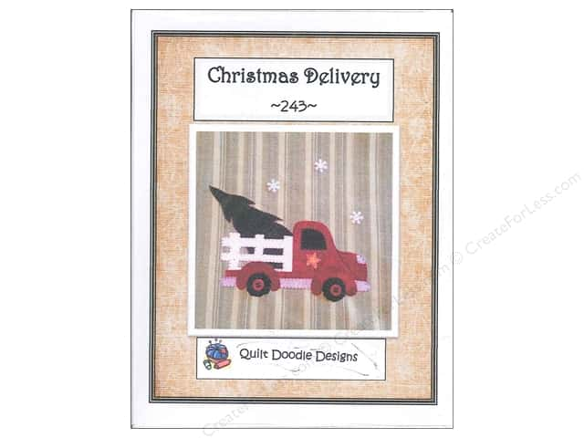 Quilt Doodle Designs Christmas Delivery Pattern