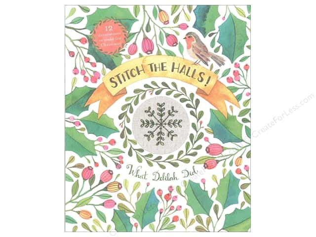 Collins & Brown Stitch The Halls Book by Sophie Simpson