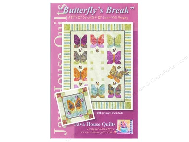 Java House Quilts Butterfly's Break Pattern