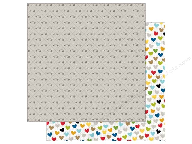 Bella Blvd 12 x 12 in. Paper Riley Fish Bone (25 sheets)
