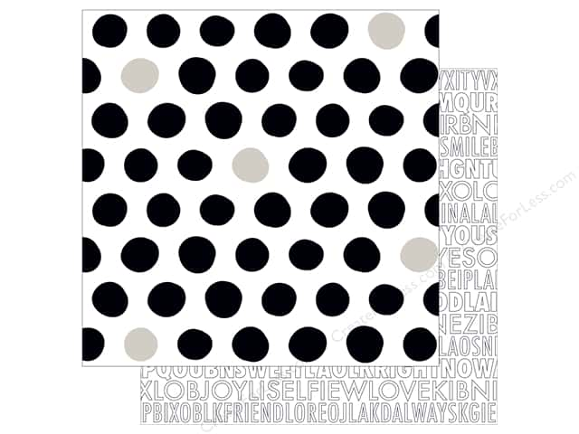 Bella Blvd 12 x 12 in. Paper Just Add Color Dotty (25 sheets)