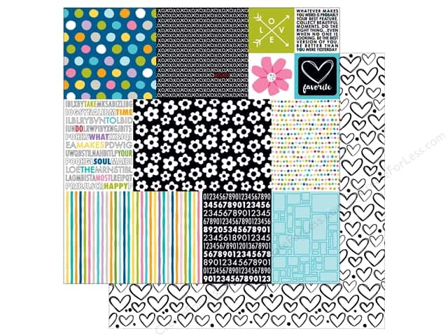 Bella Blvd 12 x 12 in. Paper Just Add Color Daily Details (25 sheets)