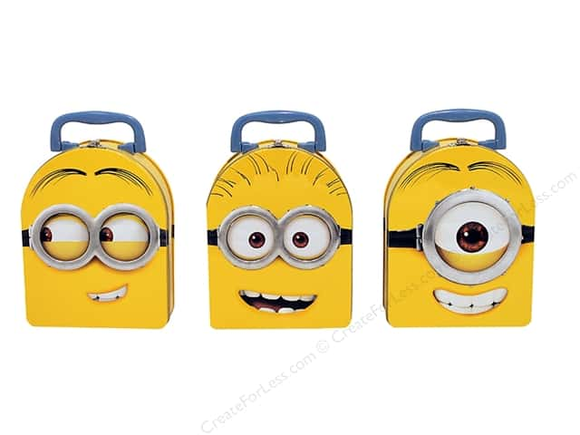 Tin Box Co Arch Shape Carry All Minions 1 pc.