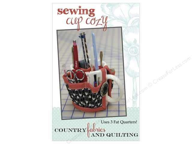 Country Fabrics & Quilting Sewing Cup Cozy Pattern