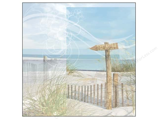 Paper House 12 x 12 in. Paper Beach Sign (25 sheets)