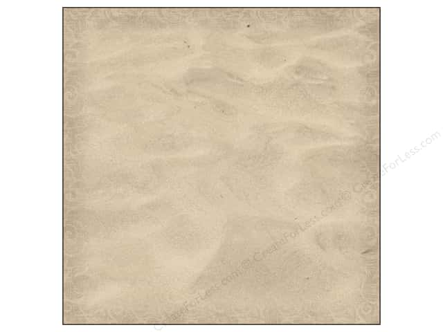 Paper House 12 x 12 in. Paper Beach Sand Pattern (25 sheets)