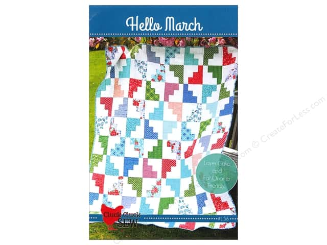 Cluck Cluck Sew Hello March Pattern