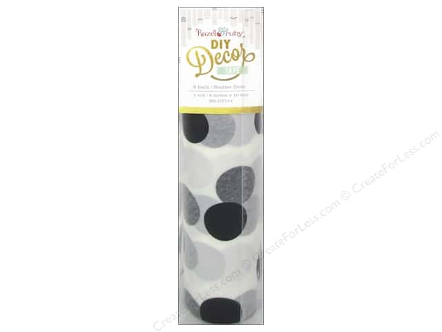 Hazel & Ruby DIY Decor Tape 8 in. Scatter Dots
