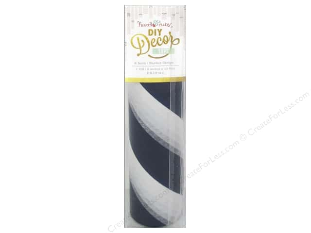 Hazel & Ruby DIY Decor Tape 8 in. Barber Stripes