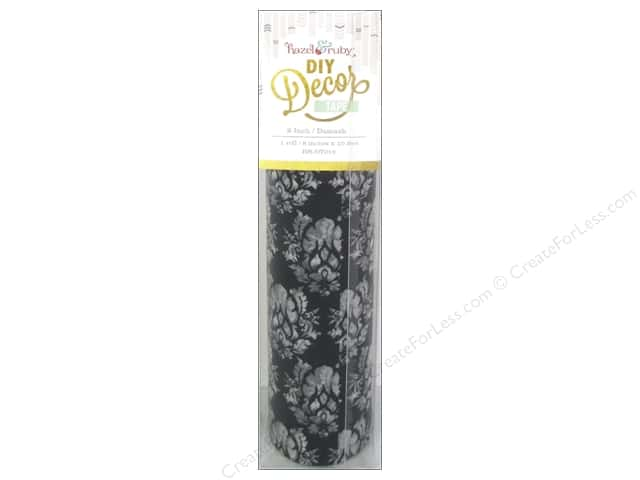 Hazel & Ruby DIY Decor Tape 8 in. Damask