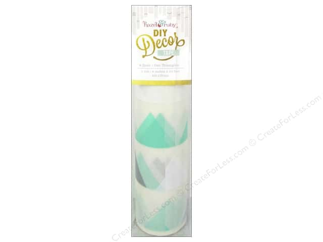 Hazel & Ruby DIY Decor Tape 8 in. Geo Triangles