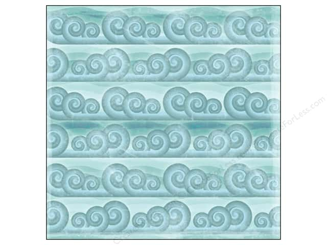 Karen Foster Paper 12 x 12 in. Tropical Vacation Catch A Wave (25 sheets)