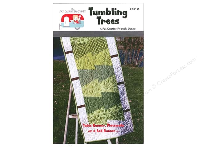 The Fat Quarter Gypsy Tumbling Trees Pattern