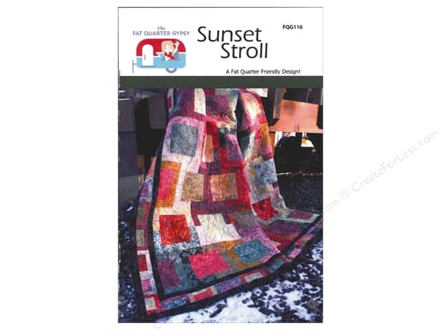 The Fat Quarter Gypsy Sunset Stroll Pattern