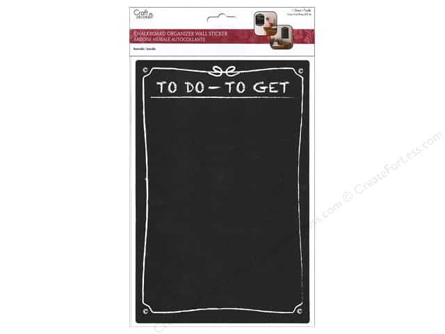Multicraft Sticker Chalkboard Organizer To Do To Get