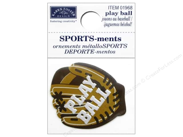 Karen Foster Sticker Sports-ment Play Ball