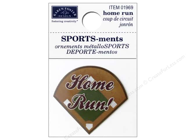 Karen Foster Sticker Sports-ment Home Run