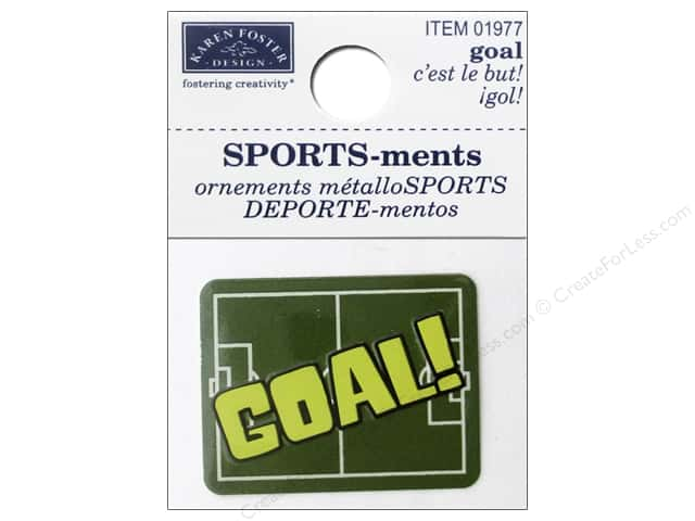 Karen Foster Sticker Sports-ment Goal
