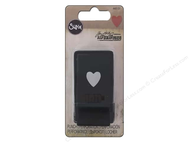Sizzix Paper Punch Tim Holtz Heart Small