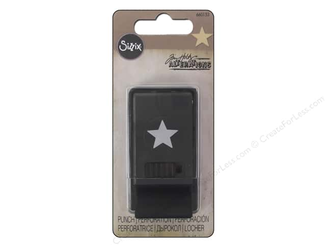 Sizzix Paper Punch Tim Holtz Star Small