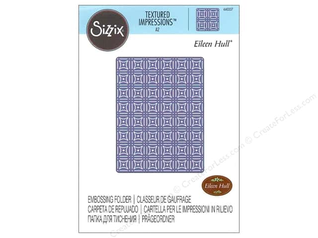 Sizzix Textured Impressions Embossing Folders 1 pc. Starlight