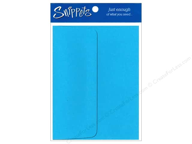4 1/4 x 5 1/2 in. Envelopes by Paper Accents 5 pc. Blue