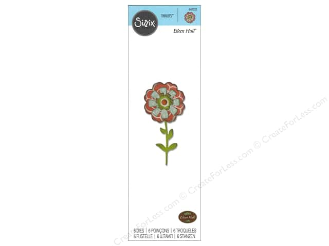 Sizzix Thinlits Die Set 5 pc. Flower Layers & Stem