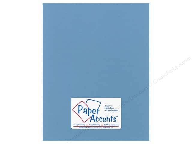 Cardstock 8 1/2 x 11 in. Smooth Evening Sky by Paper Accents (25 sheets)