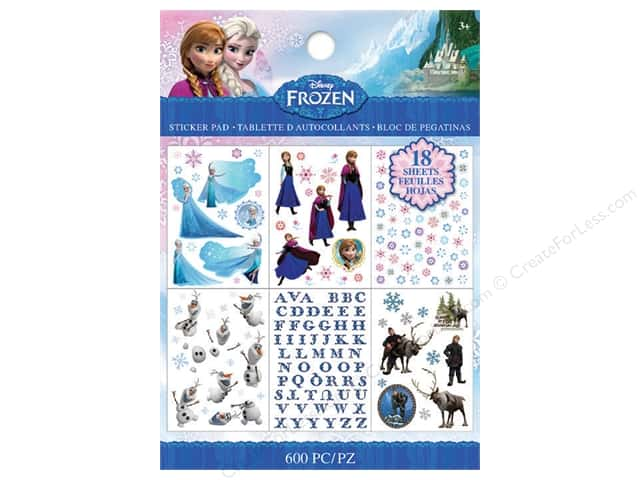 EK Disney Sticker Frozen Pad