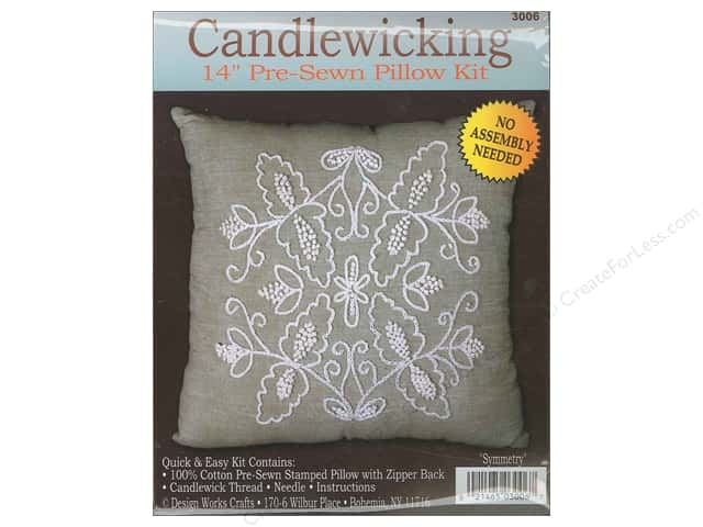 Design Works Candlewicking Kit 14 x 14 in. Symmetry