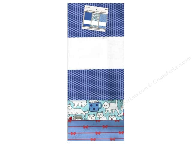 "Design Works Towel 18""x 28"" Printed Cat Trio"