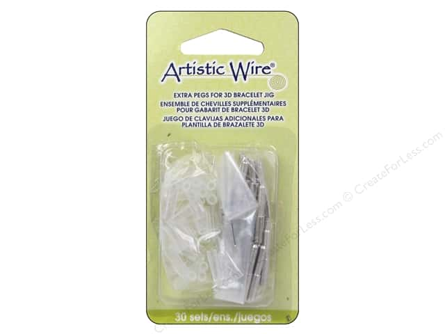 Artistic Wire 3D Bracelet Jig Extra Pegs