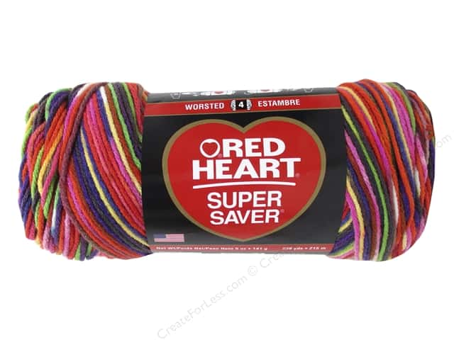 Red Heart Super Saver Yarn 236 yd. #3953 Butterfly
