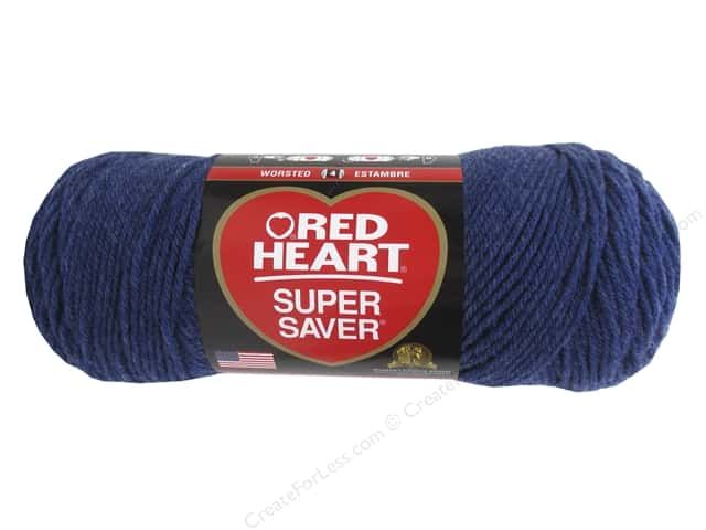 Red Heart Super Saver Yarn #5851 Denim 364 yd.